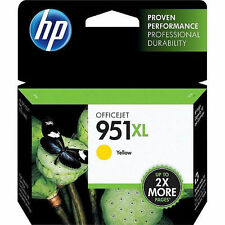 HP 951 XL Yellow High-Yield Ink for 8100 8600 printer EXP DATE 2/2019 - FEE SHIP