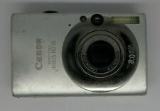 Canon IXUS 80 IS 8.0MP Digital Camera Working With issue Faulty For Repair