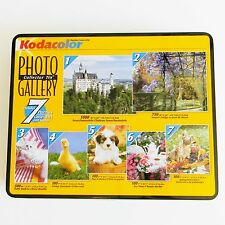 New Factory Sealed Photo Gallery 7 Puzzles Collector's Tin Kodacolor Baby Animal