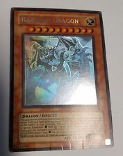 Yugioh Rainbow Dragon TAEV-EN006 Ghost Rare Misprint Elemental Hero Chaos Error
