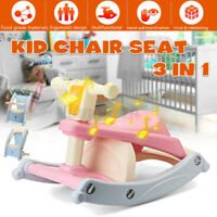 3 IN 1 Baby Infant Dining High Chair Toddler Eating Feeding Table Booster Seat