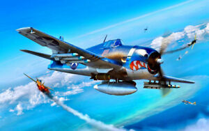 Aircraft Bombs Clouds War Art Picture Wall Prints Oil Painting Canvas Home Decor