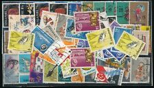 SINGAPORE 1955-97 FINE USED RANGE FISH CORAL DANCERS etc...79 stamps