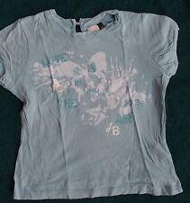 T-shirt manches courtes bleu IKKS - Taille 6 ans