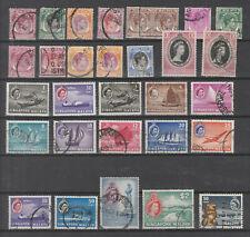 Singapore Malaya  colonie Britannique lot de timbres neufs et oblitérés