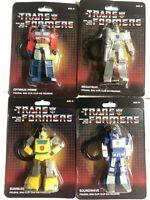 Transformers Bag Clips Optimus Soundwave Bumblebee Megatron Lot Of 4 NIP