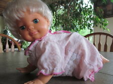 Irwin Toys 1991 Oopsie Daisy Crawling Baby Doll with Sound-Working