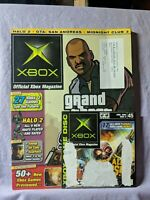 Official Xbox Magazine & Demo Disc No 45 June 2005 Grand Theft Auto San Andreas