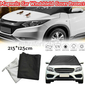 215x125cm Car Windscreen Cover Magnetic Auto Windshield Cover Protect From