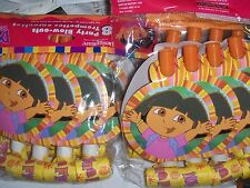 16 Dora the Explorer Party Blow outs Birthday Party Carnival Favor