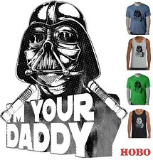 Funny T-shirts Star wars Darth Vader I'm your Daddy Dad Fathers day Men's size