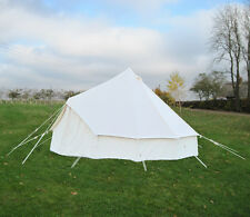 4M  CANVAS BELL TENT KOKOON CAMPING SCOUT GROUNDSHEET INCLUDED
