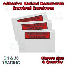 High Quality Documents Enclosed Envelopes / Wallets Document Enclosed ✔ A7 A6 ✔