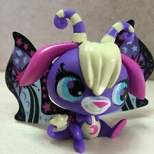 Littlest Pet Shop 2826 Moonlite Purple Star Ray Moon Fairy 9 pics SHIPS FREE
