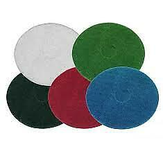 "Buffing Polishing scrubbing Floor machine polisher Pads, Red Green Black 17"" 15"""
