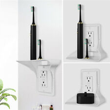 Wall Outlet Shelf Holder Charging Socket Storage Power Perch Home Phones Ra^