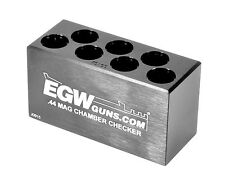 EGW .44 Magnum 7-Hole Chamber Checker Case Gauge