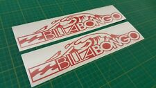 "Mazda Bongo Friendee Aero Auto Free Top ""Billabongo"" stickers decals any colour"