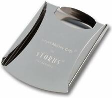 STORUS Smart Money Clip Silver Stainless steel From Japan