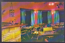 WICKENBURG ARIZONA AZ Rancho de los Caballeros Lounge Vintage Postcard PC