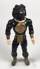Vintage 1986 Chuck Norris Karate Commandos Super Ninja Serpent Action Figure