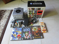 Nintendo Gamecube Lot 3 Games  1 Controller Gameboy Advance Adapter Bundle