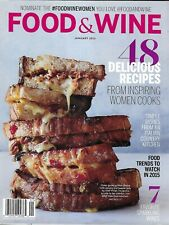 Food And Wine Magazine 48 Recipes Grilled Cheese Sandwich Sparkling Wines 2015