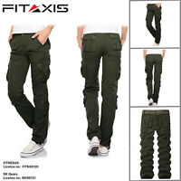 Men's Cargo Tactical Regular Trouser Army Combat Work Trousers Work wear Pants