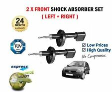FOR RENAULT CLIO 1998-2005 NEW 2 X FRONT LEFT + RIGHT SHOCK ABSORBER SHOCKER