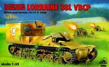 LORRAINE 38 VBPC - PERSONNEL ARMOURED CARRIER (FRENCH ARMY MKGS 1940) 1/35 RPM