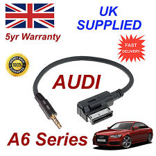 AUDI A6 Series ami mmi 4f0051510f Música Interfaz Jack de 3.5mm Entrada Cable