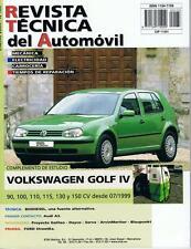 MANUAL DE TALLER Y MECANICA VOLKSWAGEN GOLF IV DIESEL DESDE 7 1999 R133