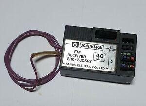 Sanwa SRC-2305RZ 40mhz receiver *no crystal* Vintage item