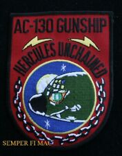 AC-130 HERCULES GUNSHIP US AIR FORCE GUARD PATCH HERK