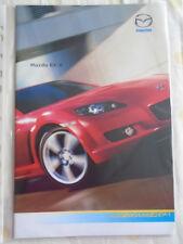 Mazda RX8 brochure Oct 2006