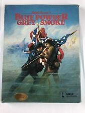 Blue Powder Grey Smoke Commodore 64/128 Garde Game