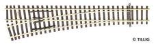 More details for tillig 83332 new ew2 left points 15° length 166 mm