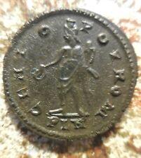 Near VF+, MAXIMIANUS As Senior Augustus 306-307 AD Follis (27mm, 7.14 g) London