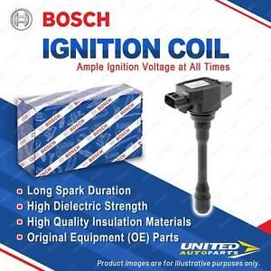 1 x Bosch Ignition Coil for Infiniti FX S51 G CV36 V36 HV36 M Y51 Q60 Q70 QX70