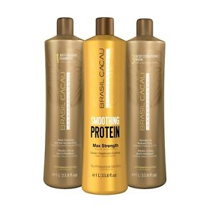 1 LITER CADIVEU BRAZIL CACAU  SMOOTHING PROTEIN KIT