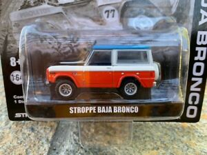 Greenlight Stroppe Ford Baja Bronco Limited Edition - mint on card VHTF!
