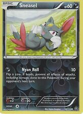 POKEMON XY STEAM SIEGE CARD - SNEASEL 60/114 REVERSE HOLO
