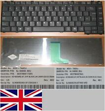 QWERTY KEYBOARD UK TOSHIBA A200 NSK-TAA0U NSK-TAE0U 9J.N9082.A0U 9J.N9082.E0U