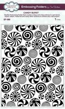 creative expressions sue wilson-  embossing folder candy burst- ef-089