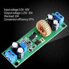 DC-DC Adjustable Power Supply Output Step-down Module 6.5V-60V to 1.25-30V 10A