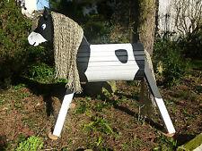 70cm Holzpferd Donner Holzpony Voltigierpferd Spielpferd  Pony  wetterfest NEU