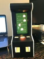 Vintage 1980's Pac-Man Arcade Ceramic Lamp with Working Lights Local Pickup Only