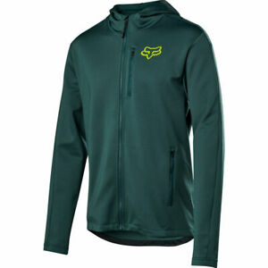 Fox Racing MTB Ranger Tech Fleece Jacket Emerald