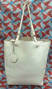 TOPSHOP Ladies Womens Bag Extra Large Blue Shoppers Handbag