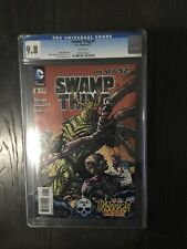 *SWAMP THING # 8 / The new 52! / CGC Universal 9.8 / June 2012